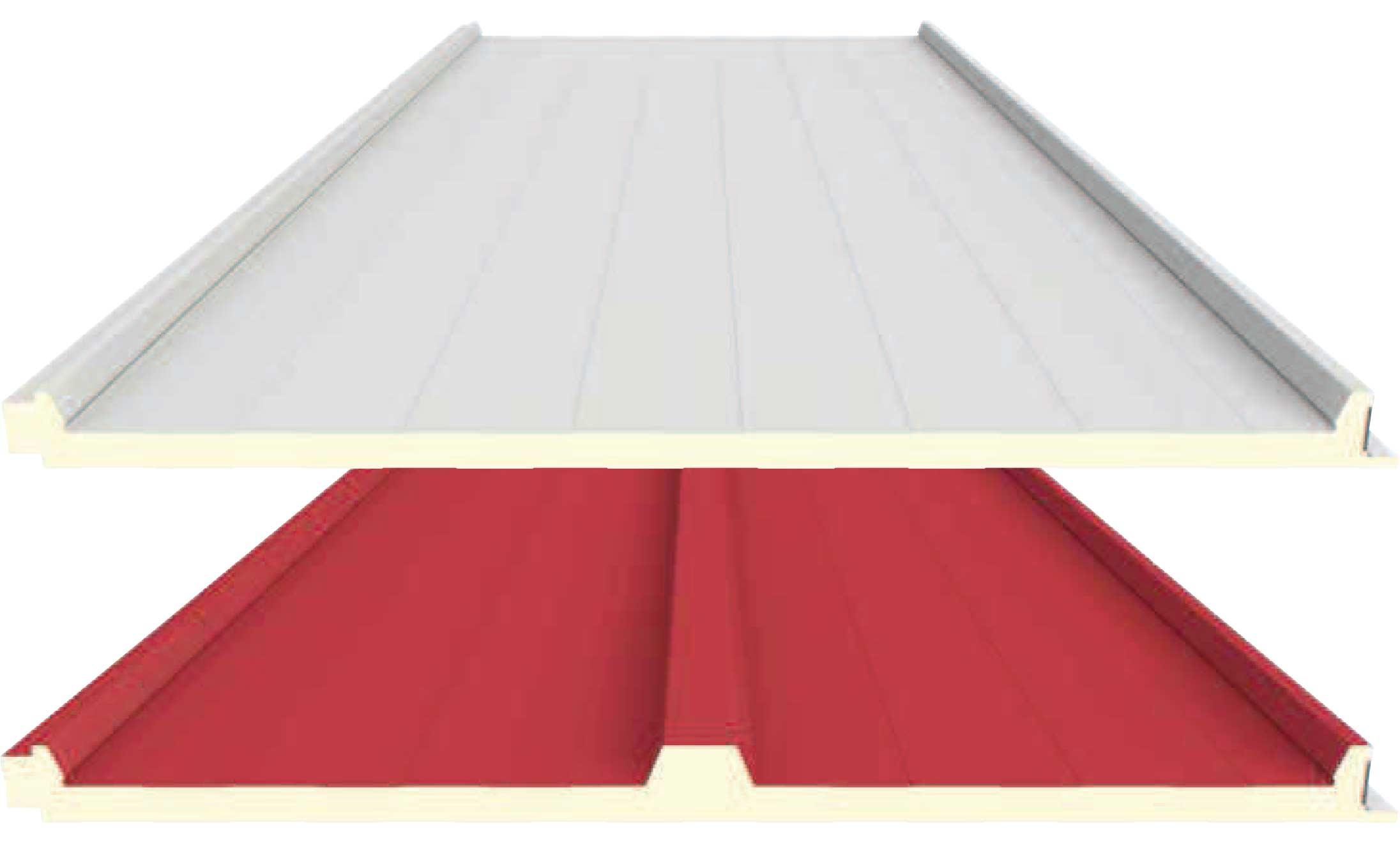 panel cubierta