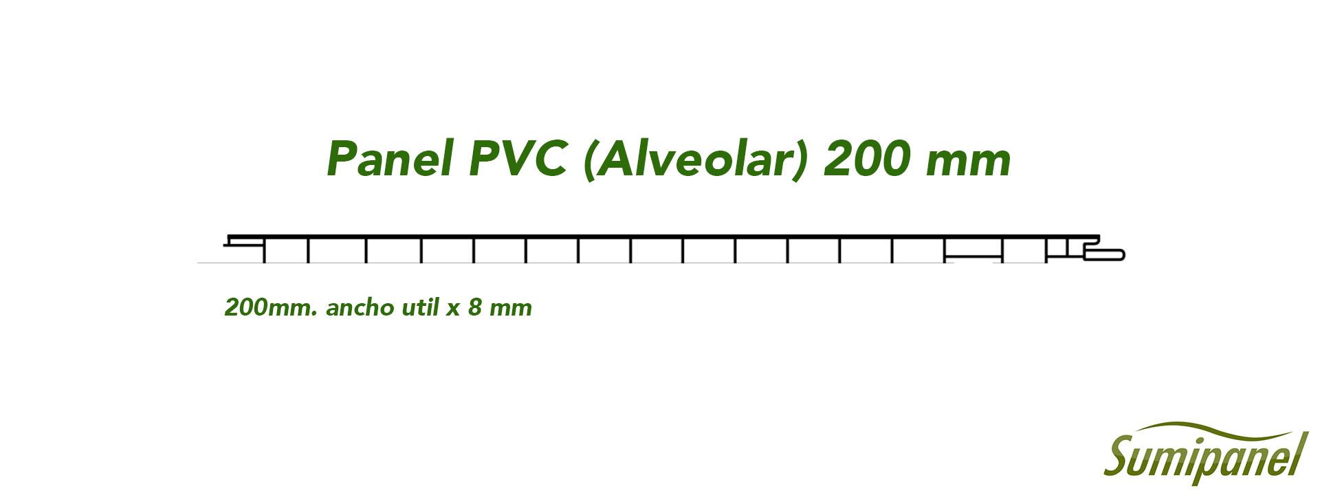 Panel PVC Alveolar