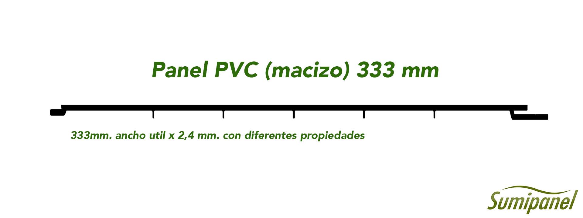 Panel PVC Macizo